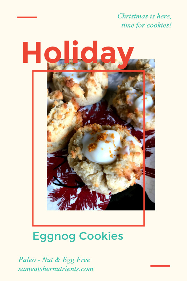 Nut Free Christmas Cookies  Holiday Eggnog Cookies – Paleo – Nut and Egg Free