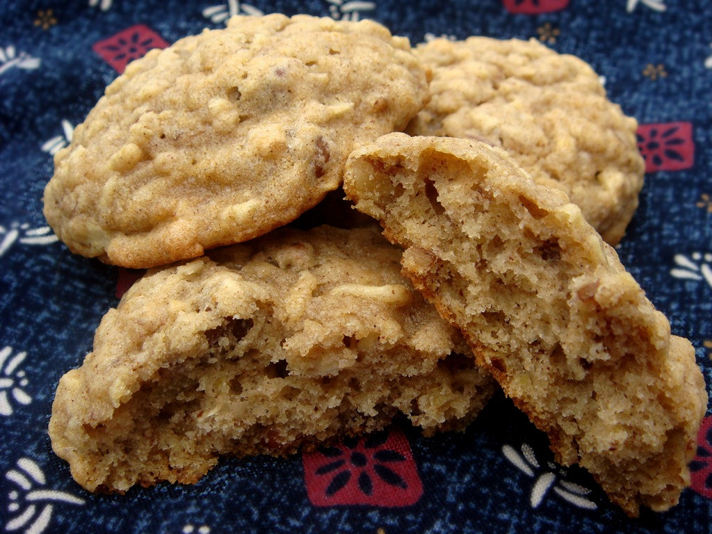 Oatmeal Christmas Cookies  oatmeal