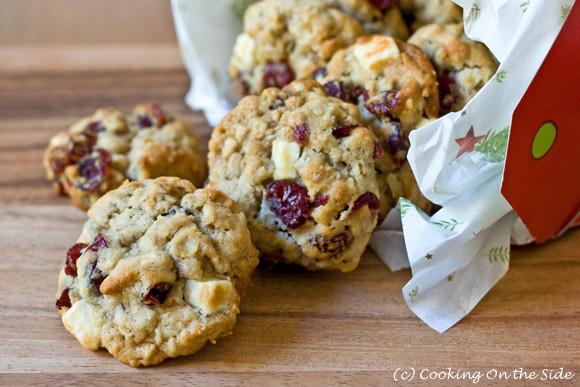 Oatmeal Christmas Cookies  Recipe Oatmeal Cranberry White Chocolate Chunk Cookies