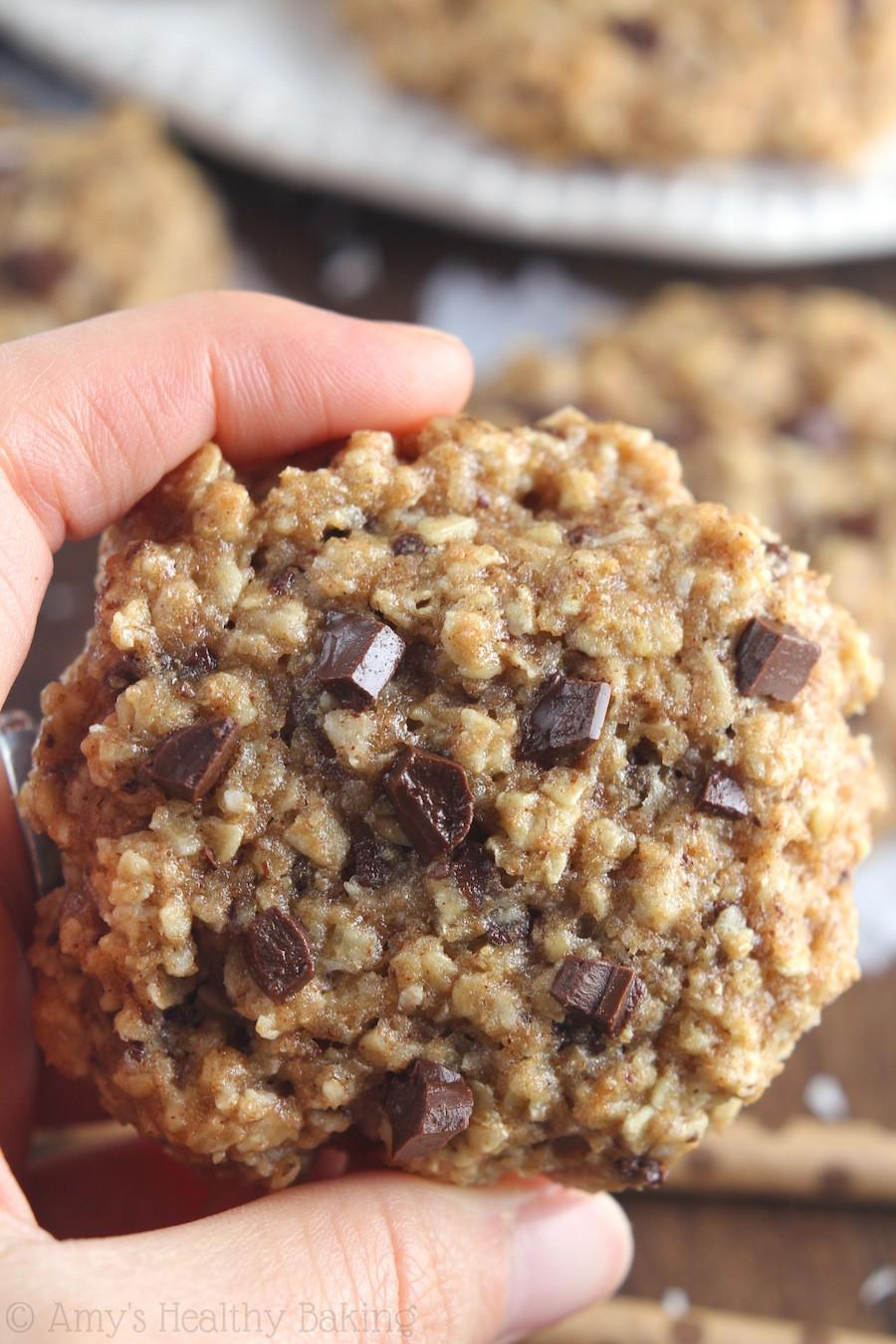 Oatmeal Christmas Cookies  Almond Joy Oatmeal Cookies