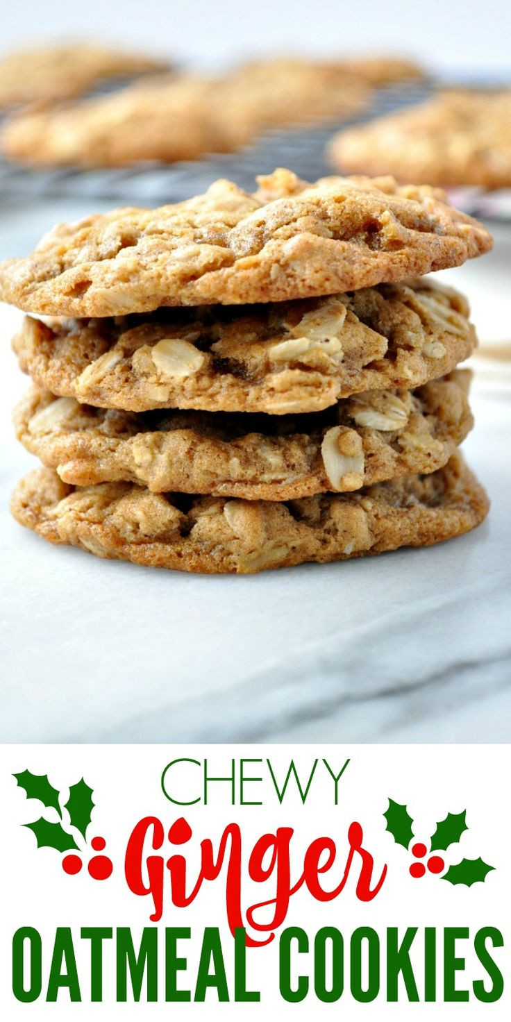 Oatmeal Christmas Cookies  1000 images about Cookies on Pinterest