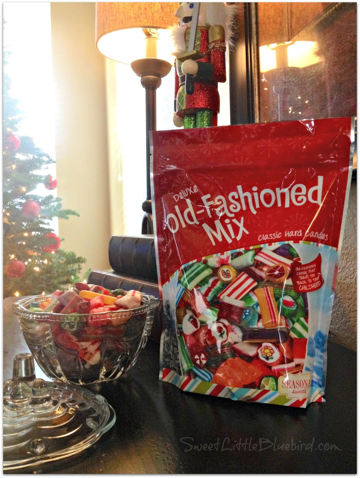 Old Christmas Candy  Sweet Little Bluebird Old Fashioned Holiday Christmas Candy