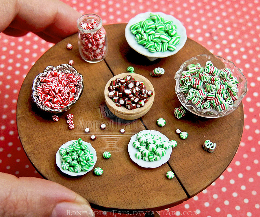 Old Christmas Candy  1 12 Assorted Old Fashioned Christmas Hard Can s by Bon