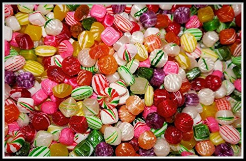 Old Christmas Candy  Washburn Old Fashioned Hard Christmas Candy Mix 1 Lb 16