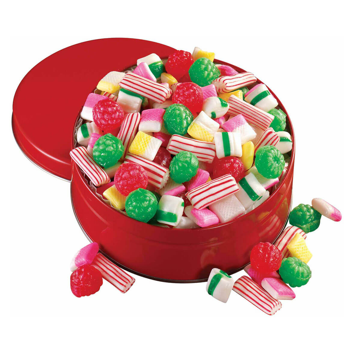 Old Fashioned Christmas Candy  Sugar Free Old Fashioned Christmas Candy Tin Hard Candy