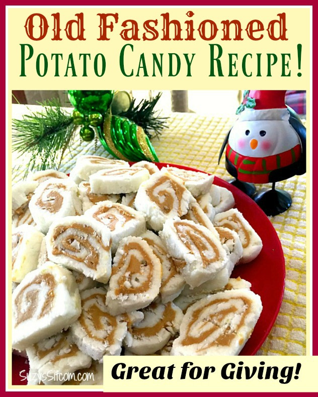 Old Fashioned Christmas Candy Recipes  Old Fashioned Potato Candy Easy Recipe