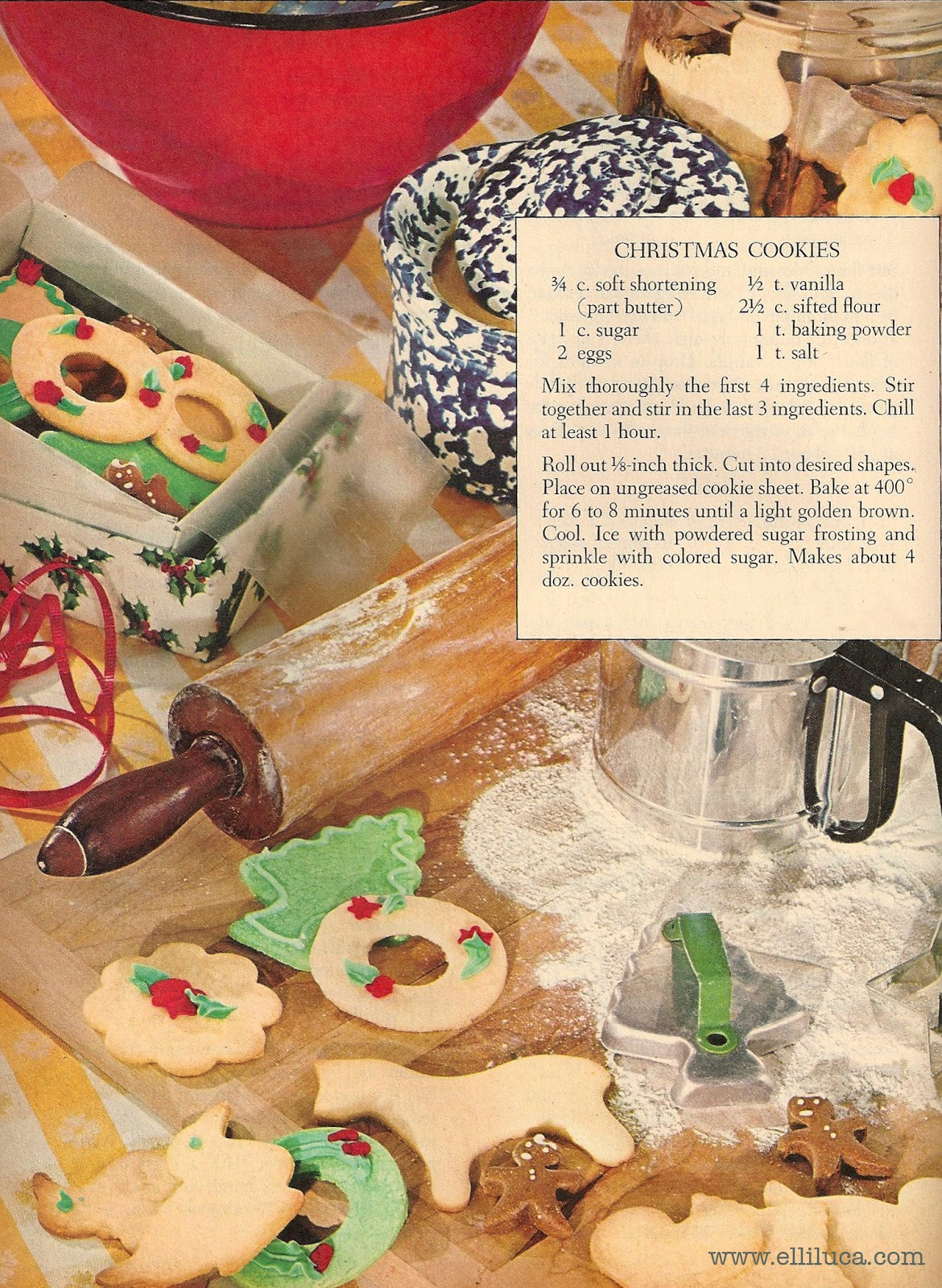 Old Fashioned Christmas Cookies Recipe  Good Old Fashioned Christmas Cookie Recipe