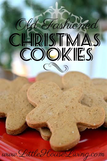 Old Fashioned Christmas Cookies Recipe  Old Fashioned Christmas Cookie Recipes Little House Living