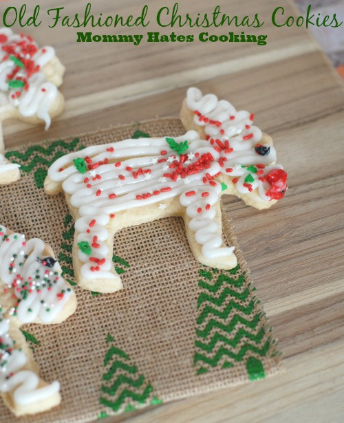 Old Fashioned Christmas Cookies Recipe  Holiday Treats Old Fashioned Christmas Cookies & Free