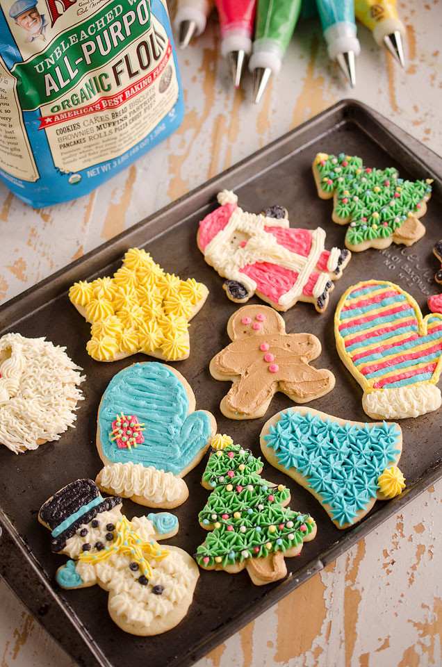 Old Fashioned Christmas Cookies Recipe  Old Fashion Sour Cream Cut Out Cookies