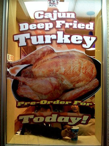 Order Cooked Thanksgiving Turkey  Not bad meaning bad but bad meaning good Frieday