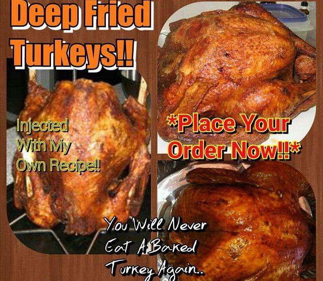 Order Fried Turkey For Thanksgiving  Deep Fried Jamaican Jerk Turkey Order Now 201 528 3785 We