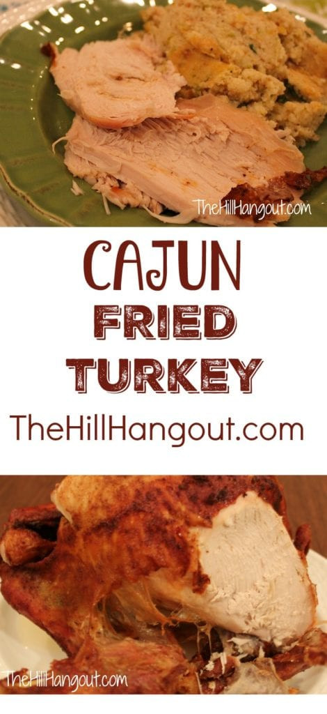 Order Fried Turkey For Thanksgiving  Cajun Fried Turkey