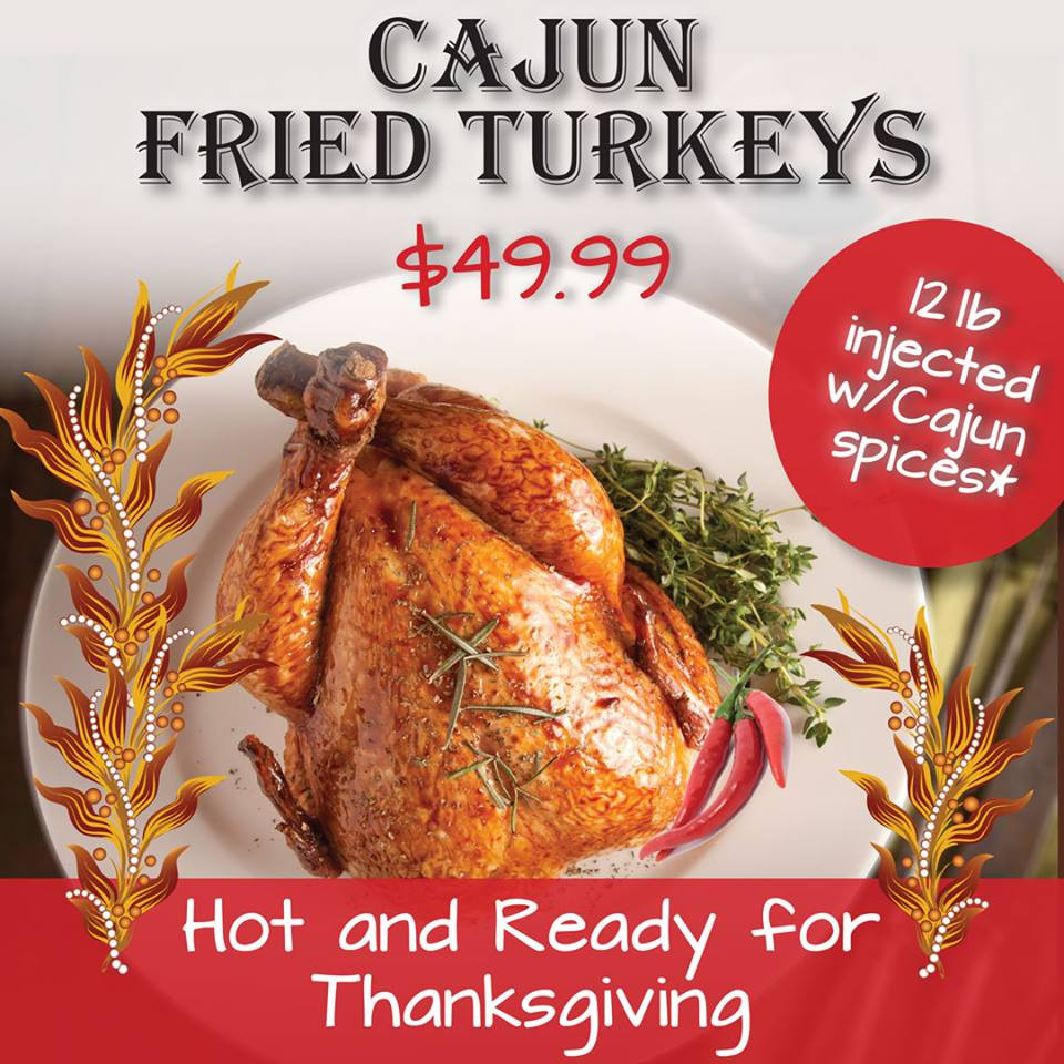 Order Fried Turkey For Thanksgiving  Enjoy a Thanksgiving feast at Do s or order a deep
