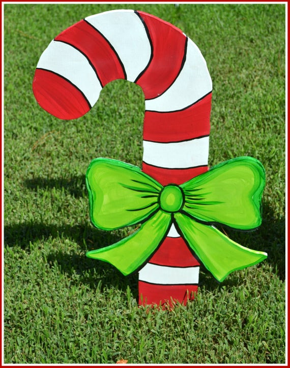 Outdoor Christmas Candy Canes  Candy Cane Decoration Candy Cane Yard Art Outdoor Christmas