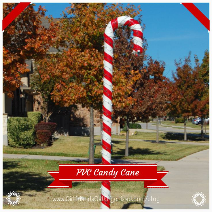 Outdoor Christmas Candy Canes  25 Top outdoor Christmas decorations on Pinterest Easyday