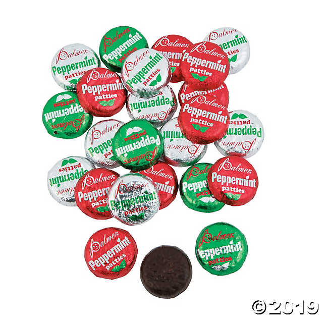 Palmer Christmas Candy  Palmer Christmas Peppermint Patties Chocolate Candy