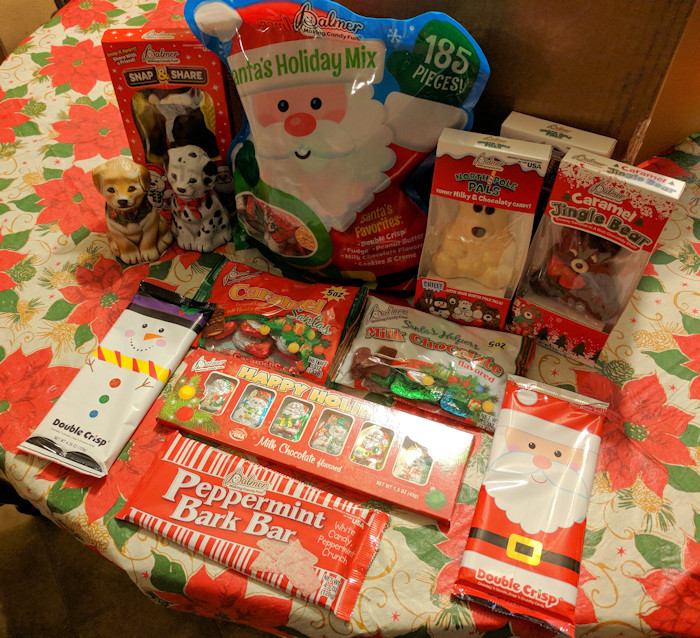 Palmer Christmas Candy  NEW R M Palmer Chocolates for Stocking Stuffers