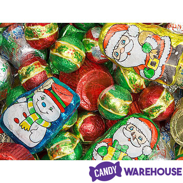 Palmer Christmas Candy  Palmer Santa s Merry Mix of Chocolate Candy 2 75LB Bag