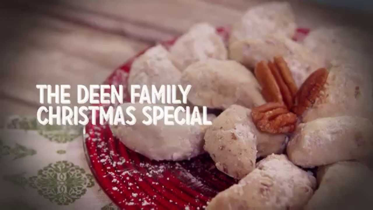 Paula Dean Christmas Cookies  The Deen Family Christmas Special