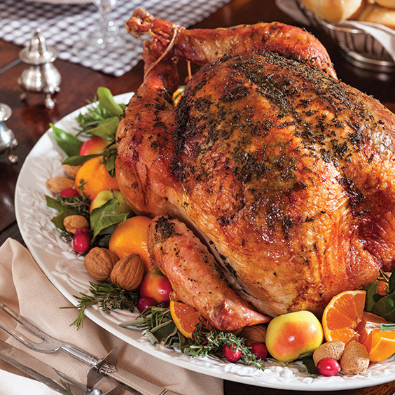 Paula Dean Thanksgiving Turkey  Herb Roasted Turkey Paula Deen Magazine