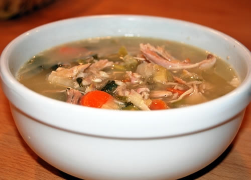 Paula Dean Thanksgiving Turkey  Paula s Turkey Soup Thanksgiving 2010 The Reluctant Gourmet