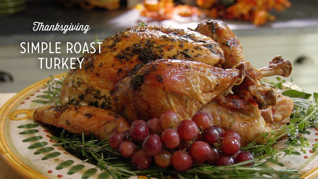 Paula Dean Thanksgiving Turkey  Simple Roast Turkey with Fresh Herbs Recipe Paula Deen