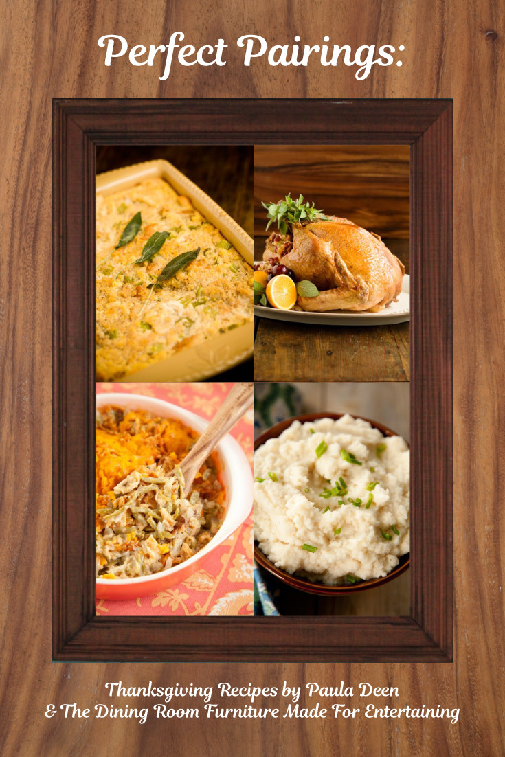 Paula Dean Thanksgiving Turkey  Perfect Pairings Thanksgiving Recipes by Paula Deen