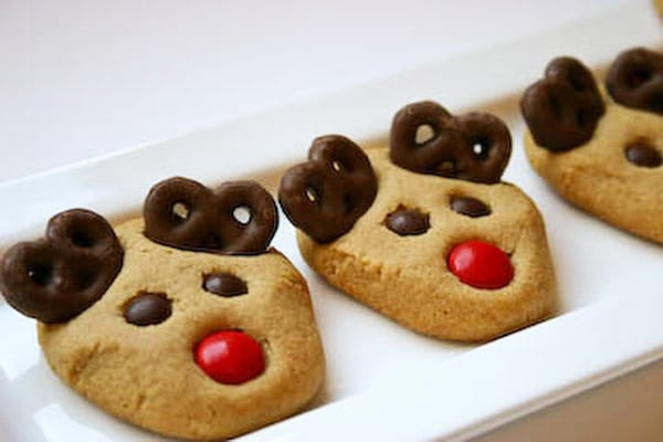 Peanutbutter Christmas Cookies  25 Best Christmas Cookie Exchange Recipes Pretty My Party