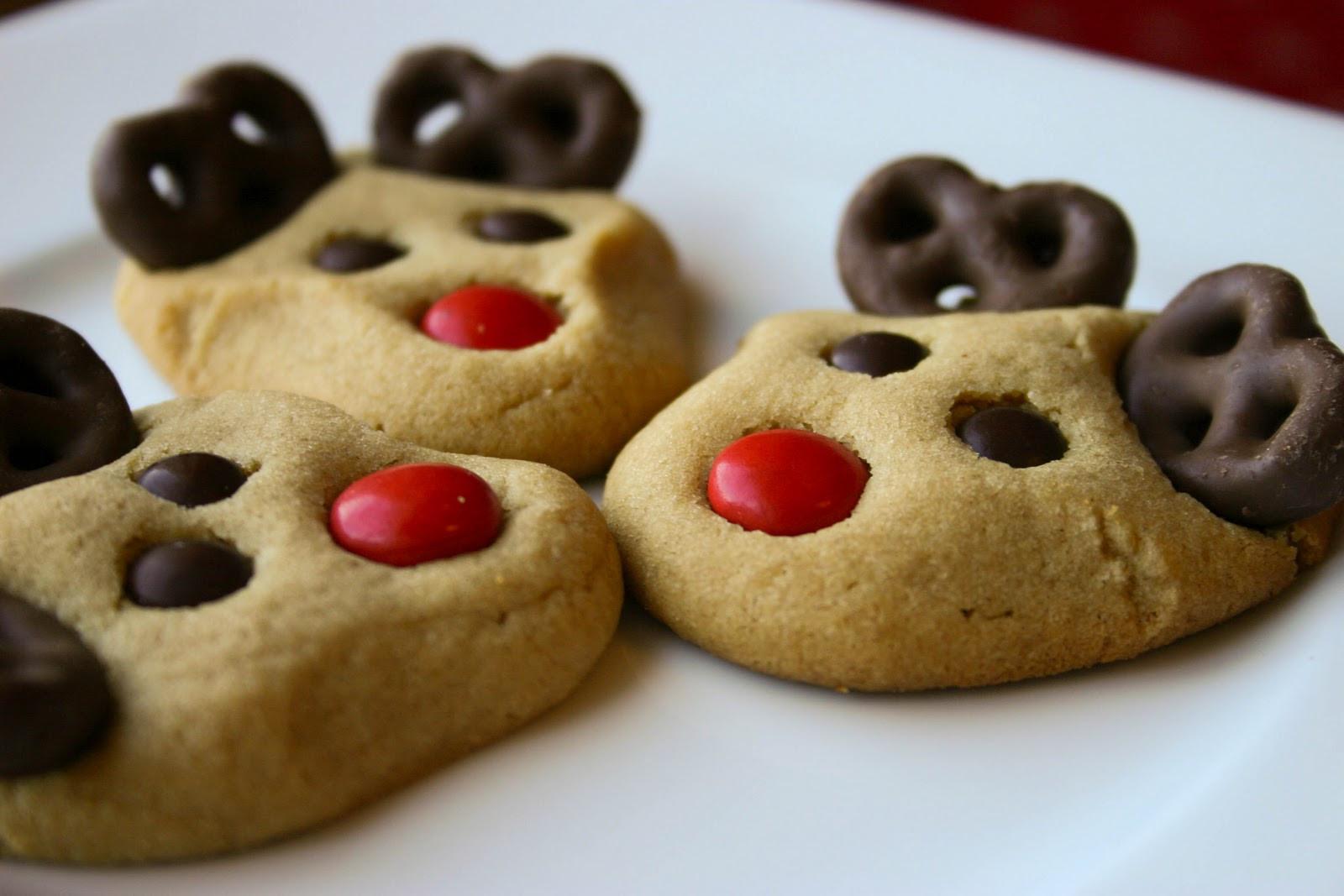 Peanutbutter Christmas Cookies  Bakergirl December 2010