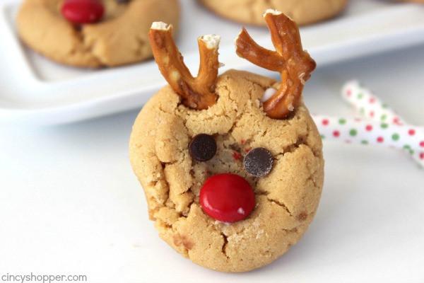 Peanutbutter Christmas Cookies  Peanut Butter Rudolph Cookies CincyShopper