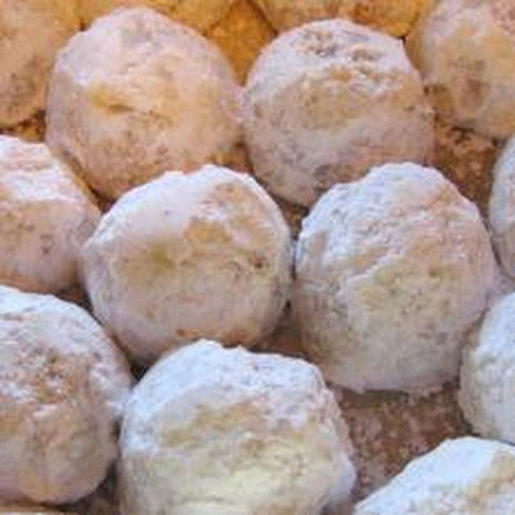 Pecan Balls Christmas Cookies  Pecan Balls Christmas Cookies