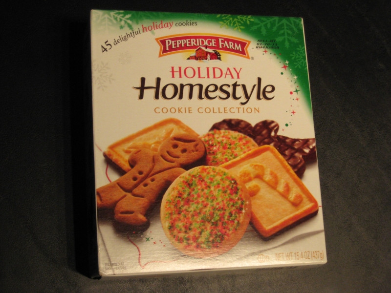 Pepperidge Farms Christmas Cookies  Review Pepperidge Farm Holiday Homestyle Cookie