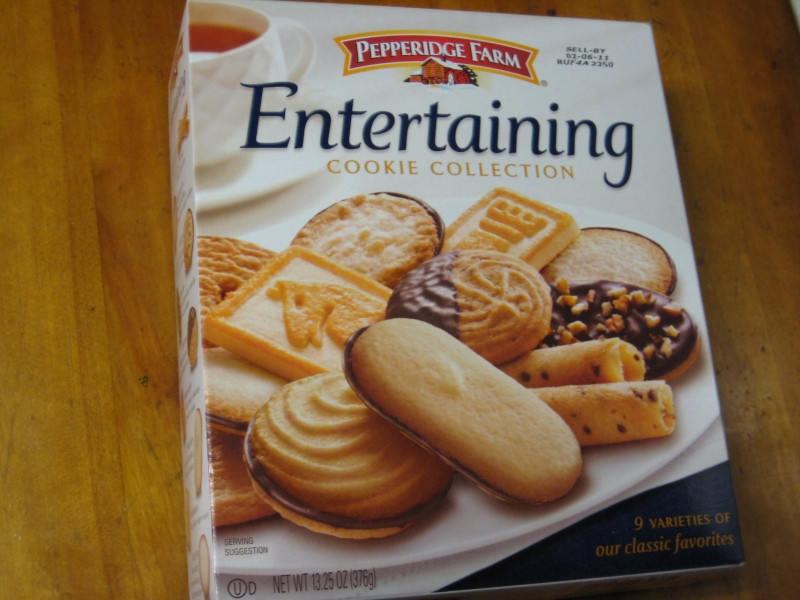 Pepperidge Farms Christmas Cookies  Review Pepperidge Farm Entertaining Cookie Collection