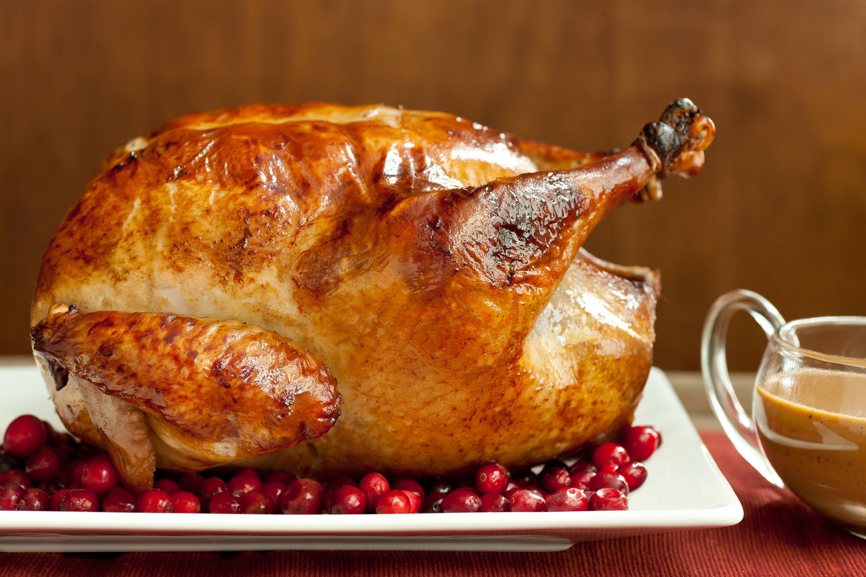 Photos Of Thanksgiving Turkey  Easy Brined Roasted Turkey with Creamed Gravy Recipe