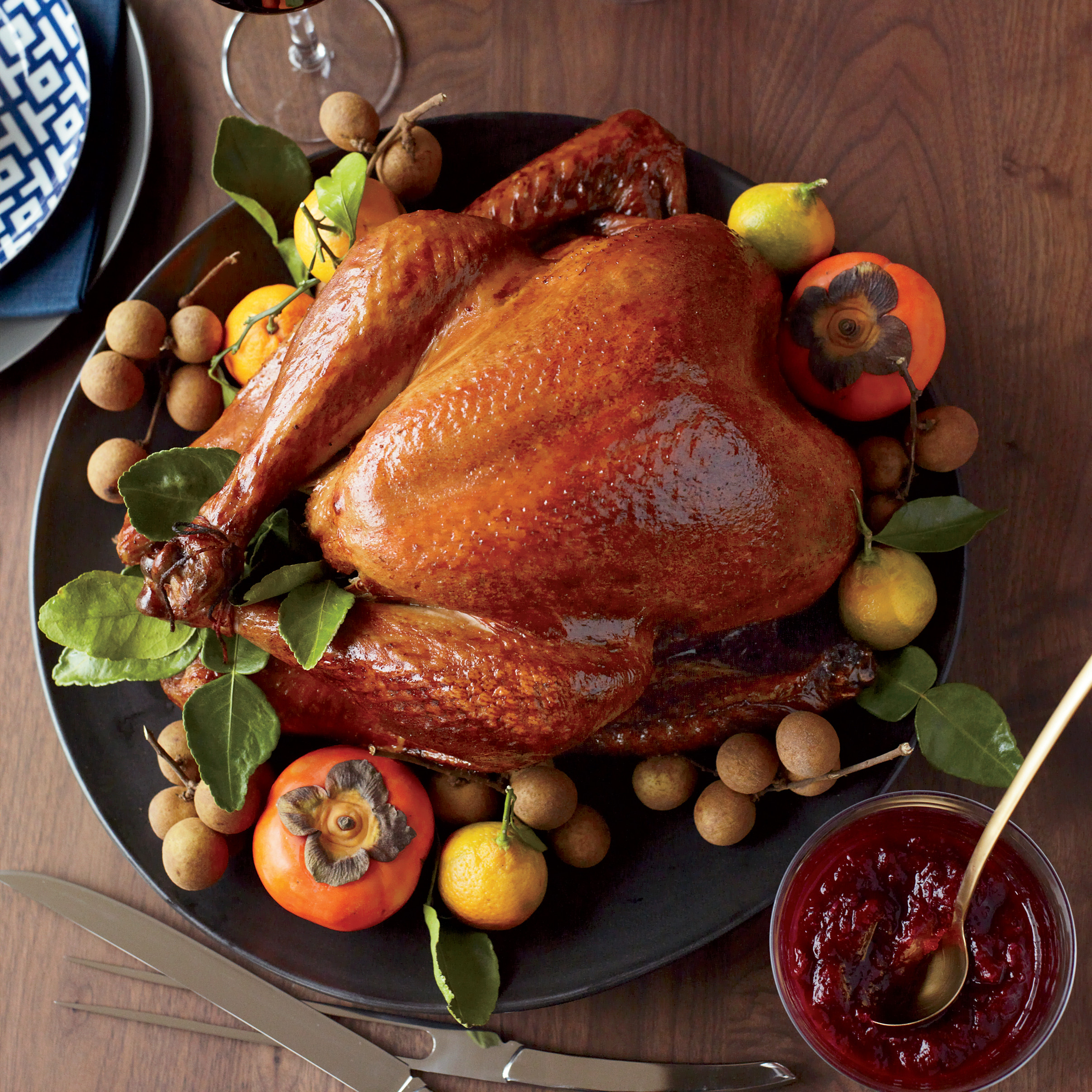 Pics Of Thanksgiving Turkey  Soy Sauce and Honey Glazed Turkey Recipe Joanne Chang
