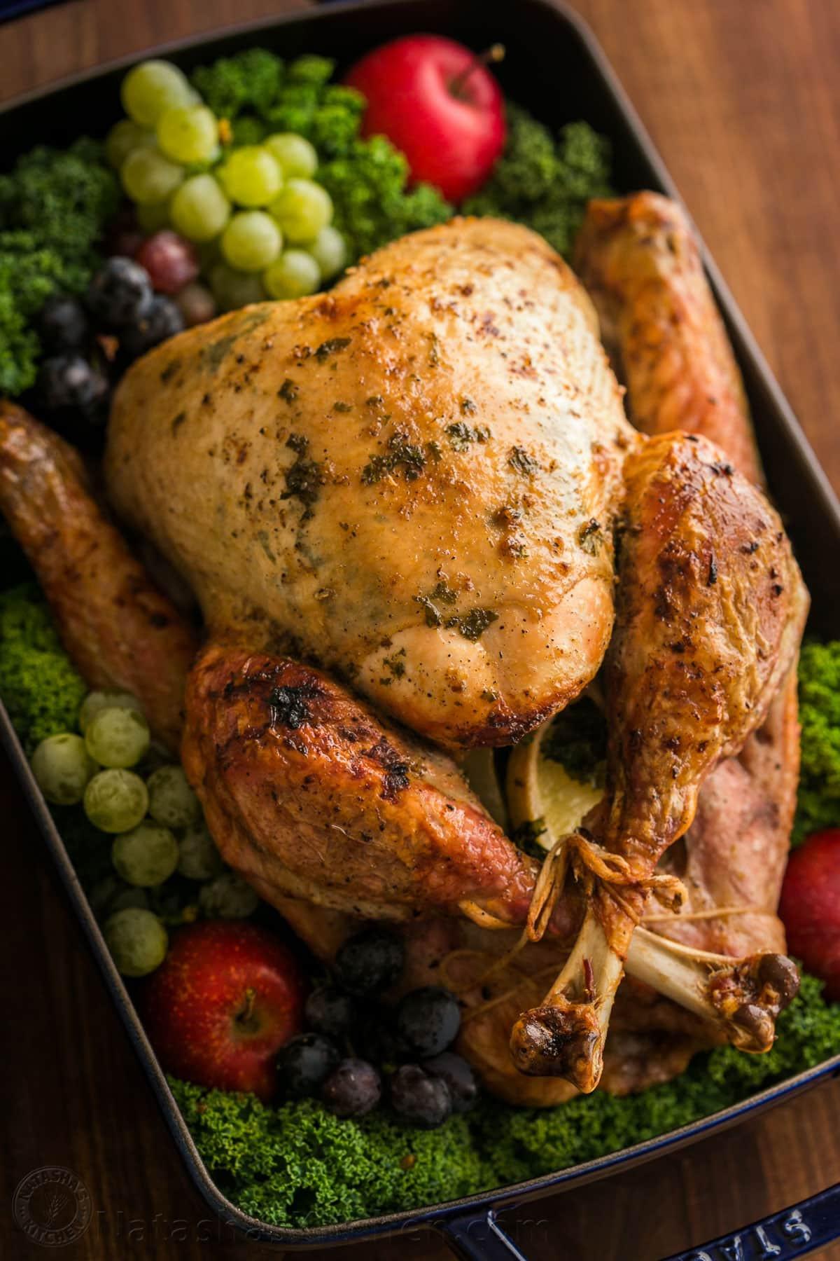 Pics Of Thanksgiving Turkey  Thanksgiving Turkey Recipe VIDEO NatashasKitchen