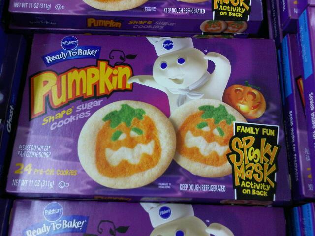 Pillsbury Halloween Cookies  Pillsbury Pumpkin and Ghost Cookies with Masks