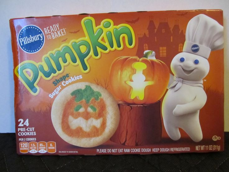 Pillsbury Halloween Cookies  17 Best images about Halloween Food Packages on Pinterest