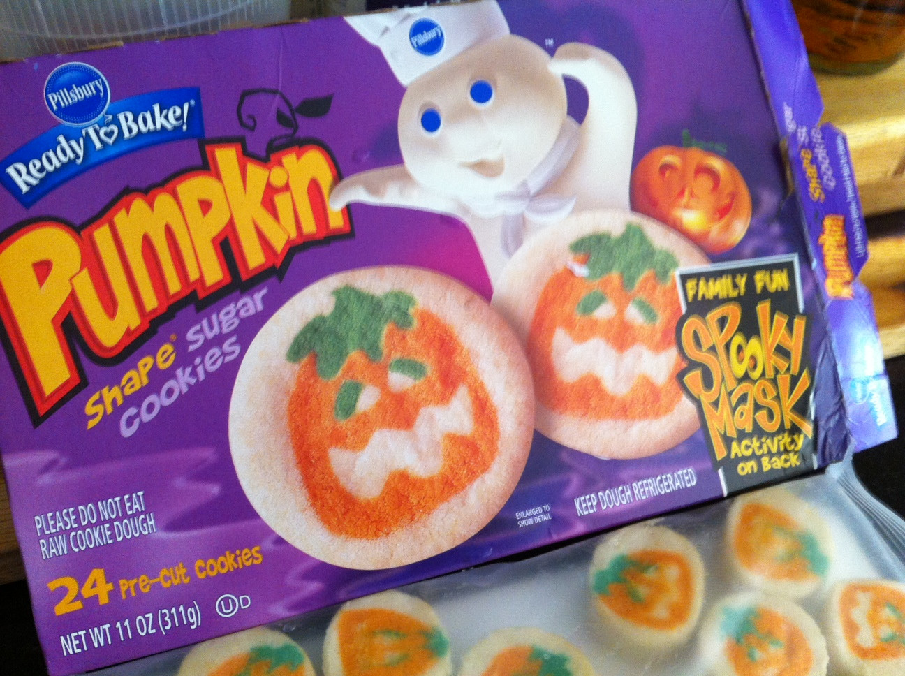 Pillsbury Halloween Cookies  Pillsbury Ephemeral Edibles