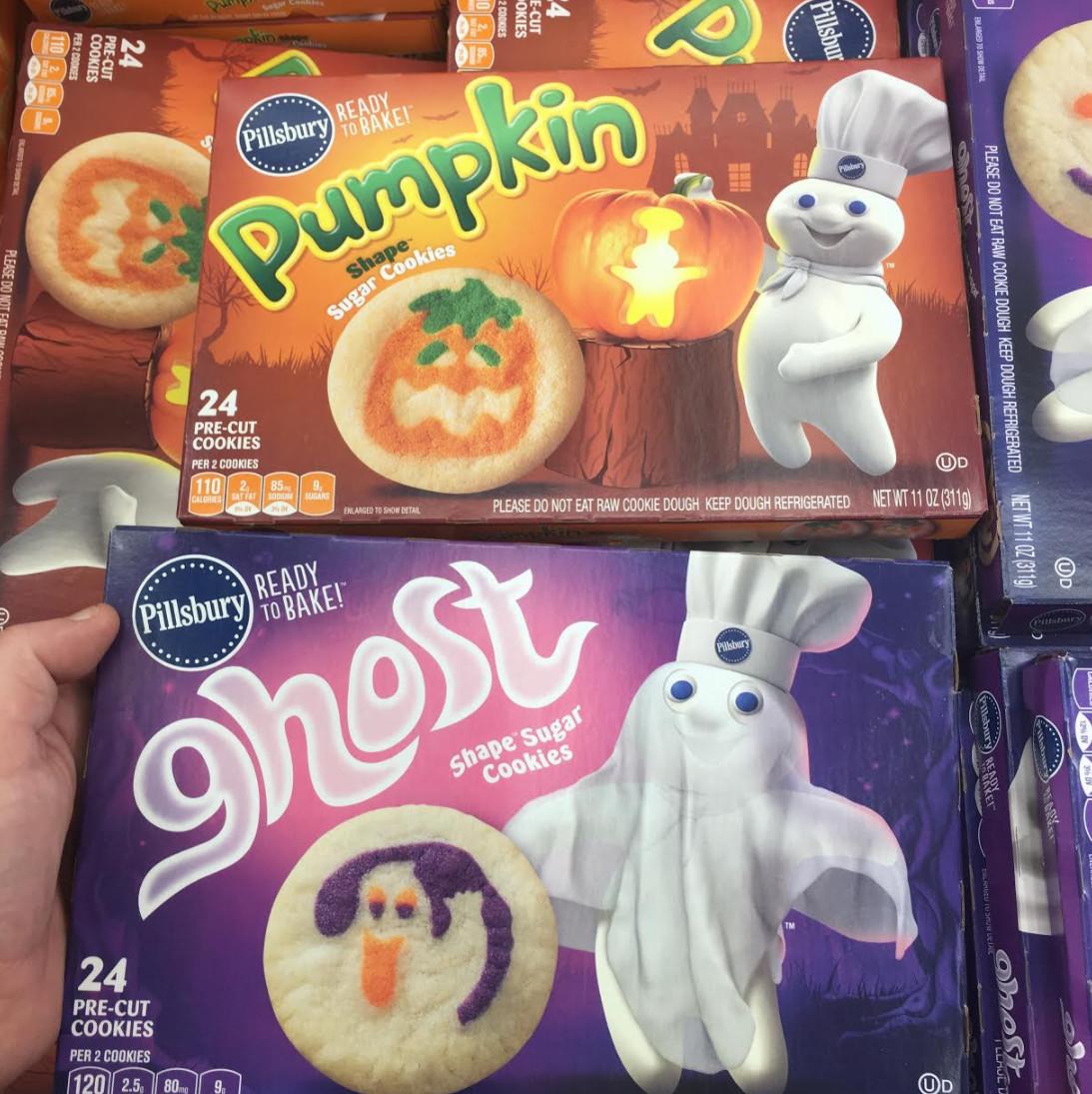 Pillsbury Halloween Cookies  Found Pillsbury Halloween Cookie Doughs Snack Gator