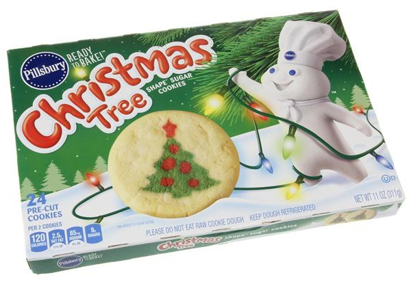 Pillsbury Ready To Bake Christmas Cookies  Pillsbury Ready to Bake Christmas Tree Shape Sugar