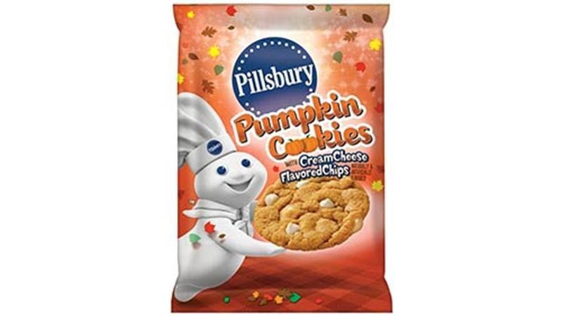 Pillsbury Ready To Bake Christmas Cookies  Pillsbury™ Ready to Bake ™ Pumpkin Cookies with Cream