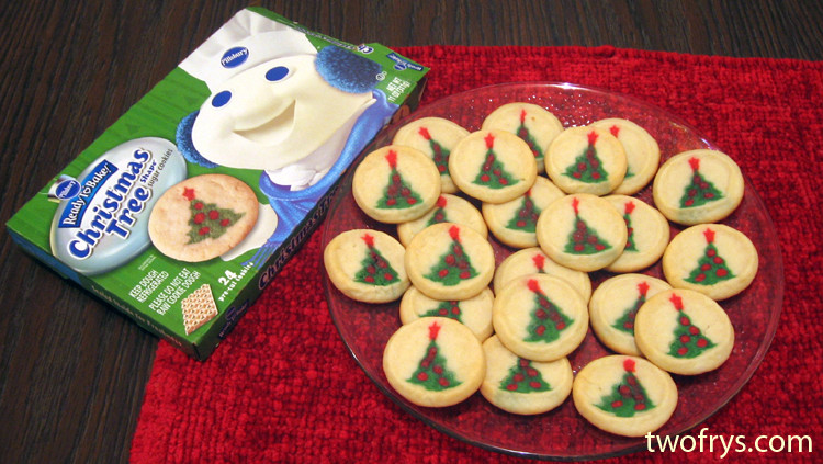 Pillsbury Ready To Bake Christmas Cookies  Two Frys Pillsbury Christmas Tree Shape Sugar Cookies