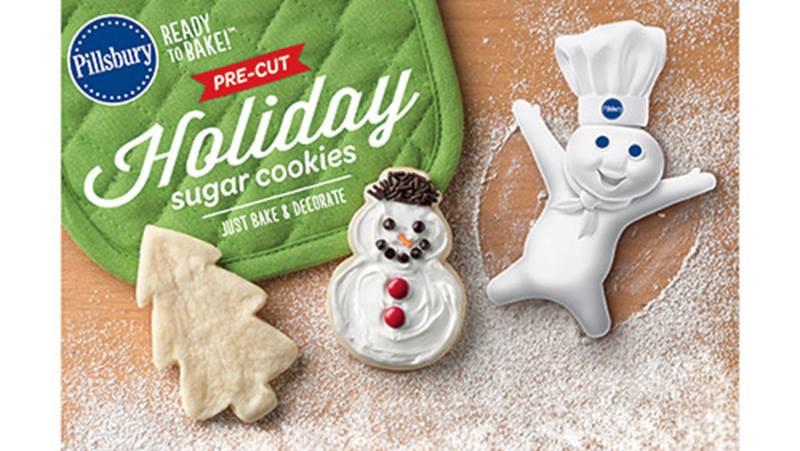 Pillsbury Ready To Bake Christmas Cookies  Pillsbury™ Ready to Bake ™ Pre Cut Holiday Sugar Cookies