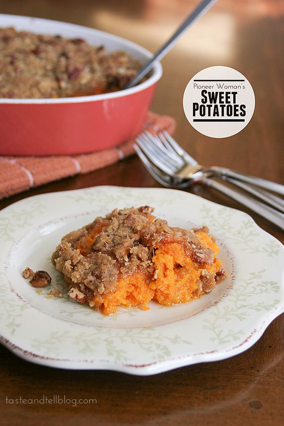 Pioneer Woman Thanksgiving Mashed Potatoes  Pioneer Woman s Sweet Potatoes Recipe