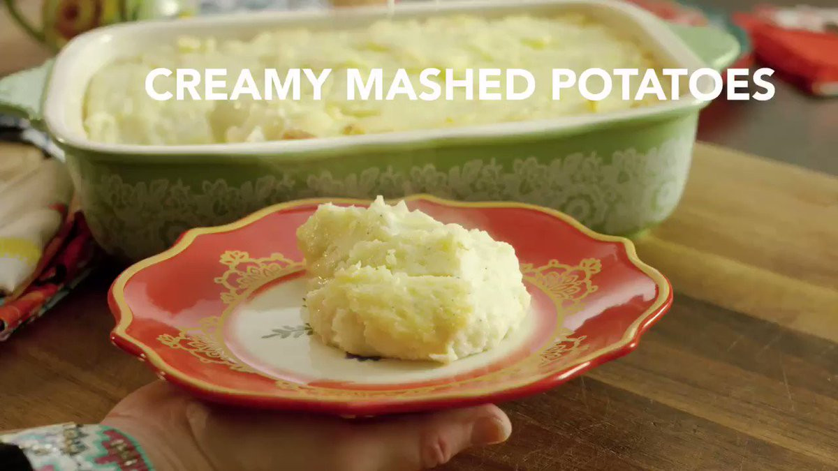 "Pioneer Woman Thanksgiving Mashed Potatoes  Ree Drummond The Pioneer Woman on Twitter ""The tastiest"
