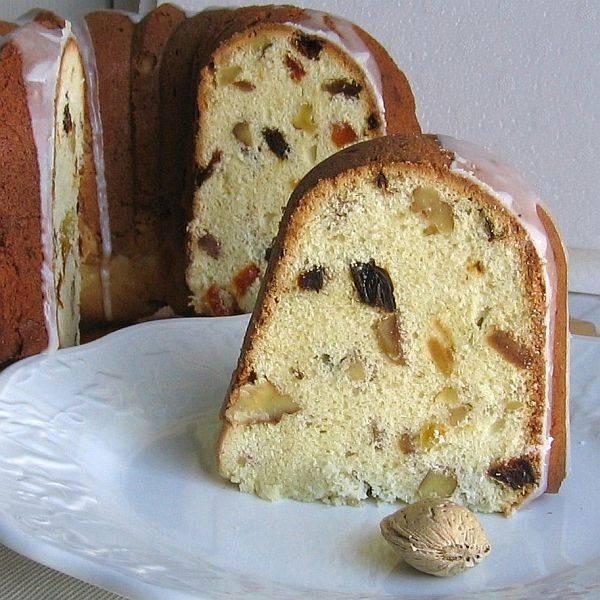 Polish Christmas Bread  Cwibak or chleb wigilijny which literally means