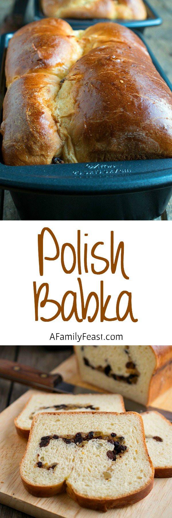 Polish Christmas Bread  Polish Babka A Family Feast