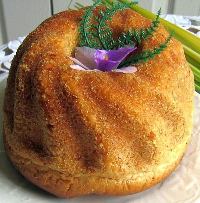 Polish Christmas Bread  Babka Wielkanocna Easy Polish Easter Babka